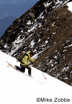 Backcountry skiing at the Colorado huts.